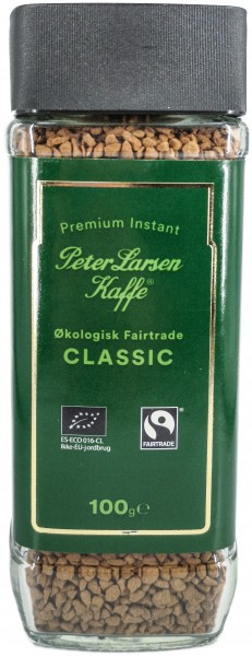 Peter Larsen Fairtrade Premium Instant Kaffee 100g