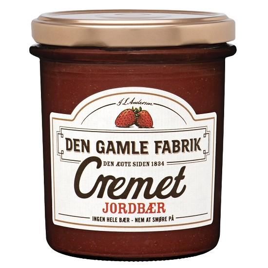 Den Gamle Fabrik Marmelade Cremet Erdbeere