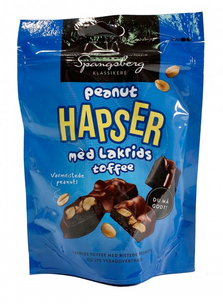 Spangsberg Peanut Hapser med Lakrids Toffee