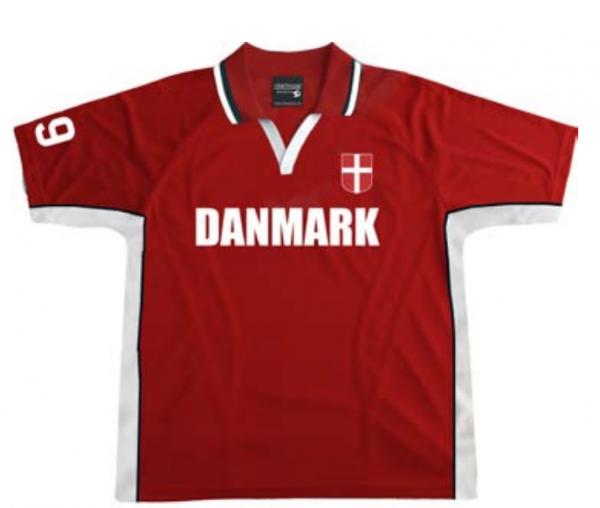 Memories of Denmark Fußball-Trikot mit Kragen Danmark