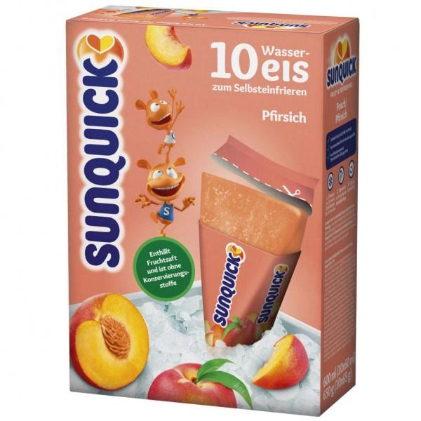 Sun Lolly - Sunquick Wassereis Pfirsich