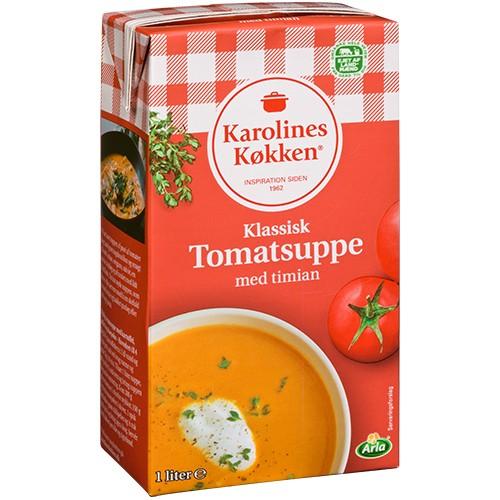 Karolines Køkken Tomatensuppe
