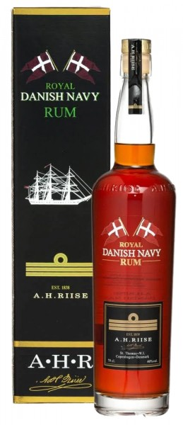 A. H. Riise Royal Danish Navy Rum