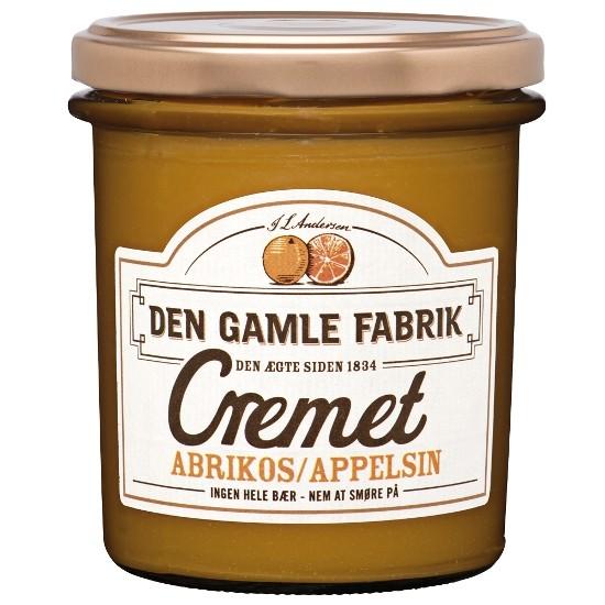 Den Gamle Fabrik Marmelade Cremet Orange/Aprikose