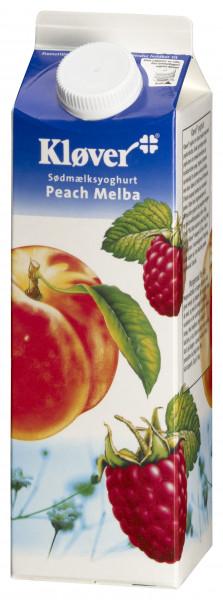 Kløver Joghurt Pfirsich-Melba