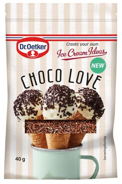 Dr. Oetker Choco Love Streusel