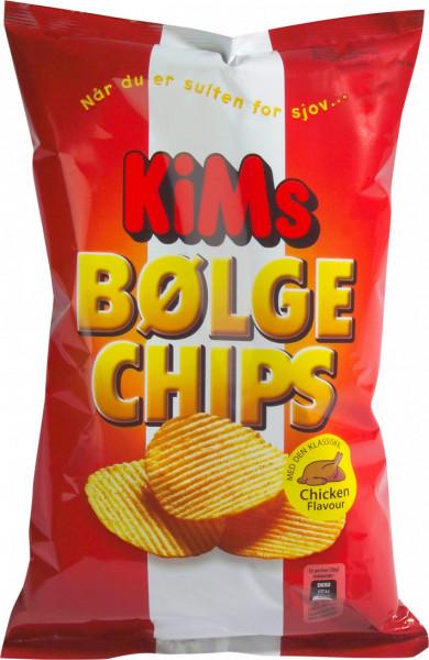 KiMs Bølge Chips Chicken Flavour