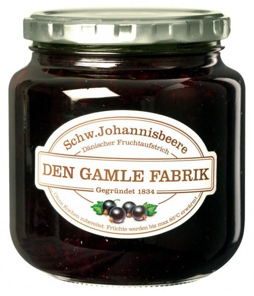 Den Gamle Fabrik Marmelade Schwarze Johannisbeere 600g
