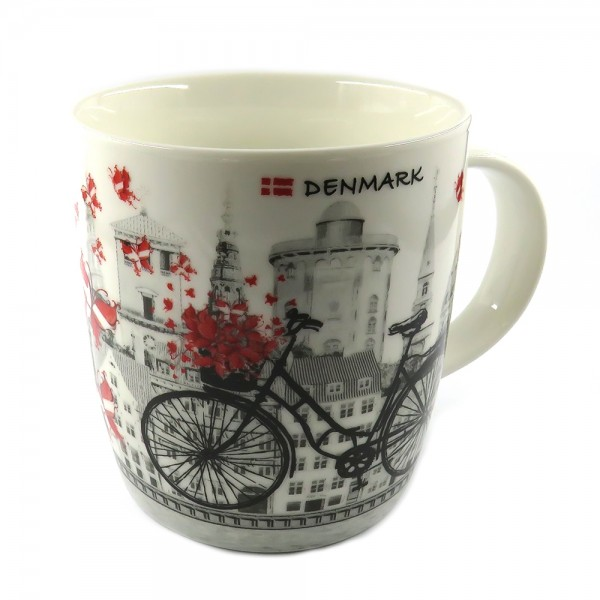 Memories of Denmark Tasse Dänemark