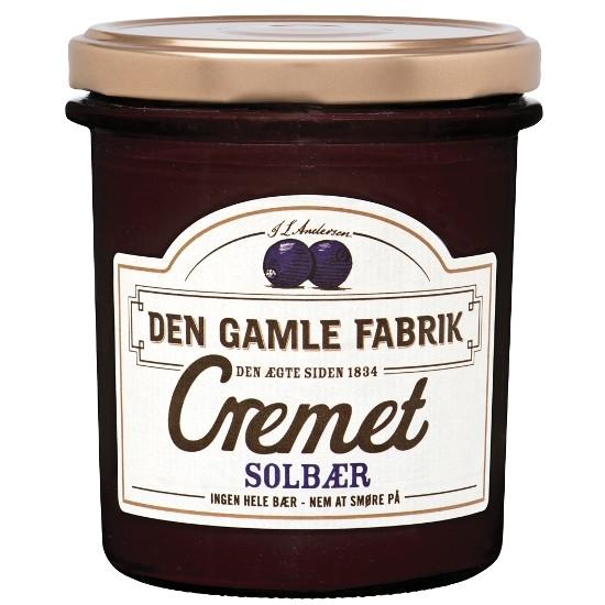 Den Gamle Fabrik Marmelade Cremet Schwarze Johannisbeere