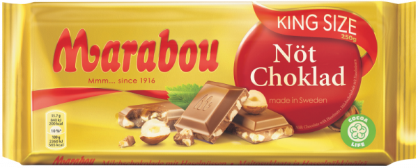 Marabou Nöt Choklad