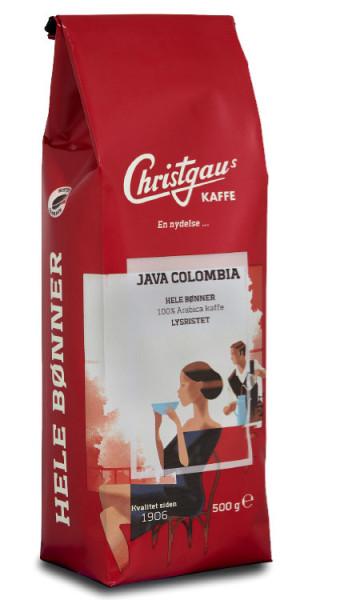 Christgau Kaffeebohnen Java Colombia 100 % Arabica