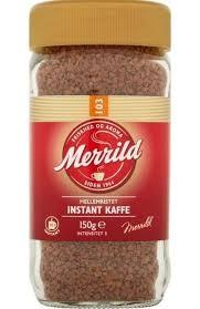 Merrild Mellemristet 103 Instant Kaffee