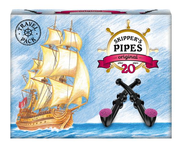 Malaco Skipper's Pipes XL 20 Stück
