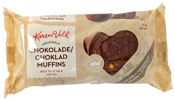 Karen Volf Chokolade Muffins