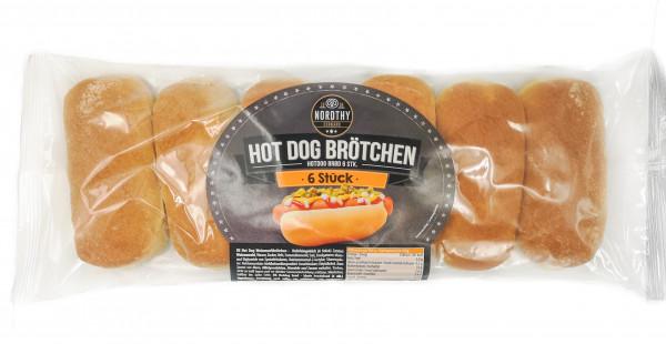 Nordthy kleine Hot Dog Brötchen 14er Pack