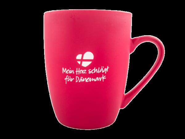 """""""Mein Herz schlägt für Dänemark"""" Tasse"""