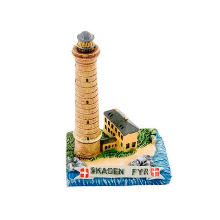 Keramik Modell vom Skagen Fyr
