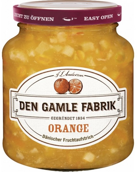 Den Gamle Fabrik Marmelade Orange 380g
