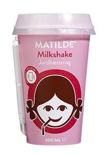 Matilde Milkshake Erdbeere