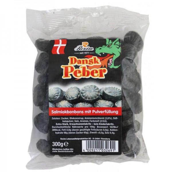 Rexim Dansk Peber Salmiak-Bonbons