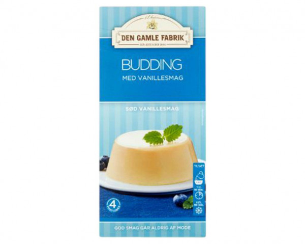 Den Gamle Fabrik Vanillepudding