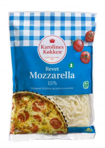 Karolines Køkken geriebener Mozerella