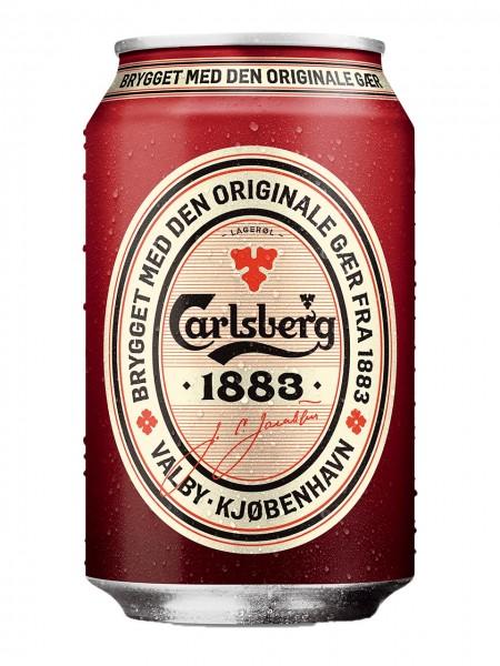 Carlsberg 1883 0,33l