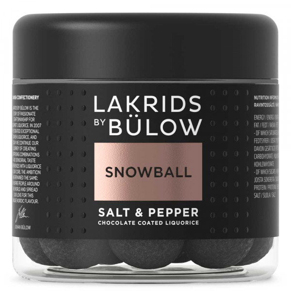 Lakrids by Johan Bülow Snowball Small