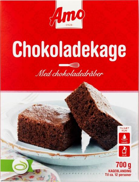 Amo Backmischung Chokoladekage