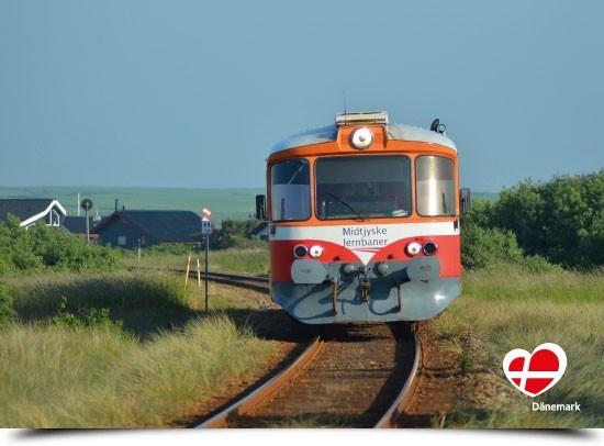 "Postkarte ""Lemvig Bahn"""
