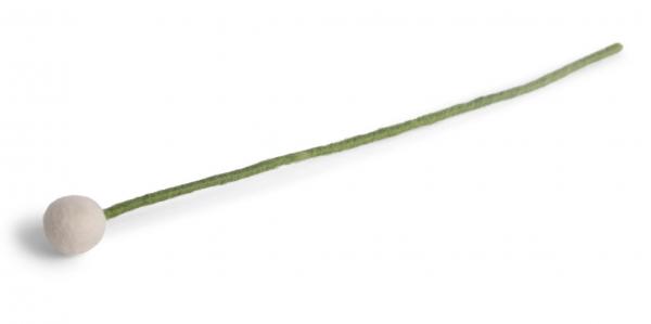 Én Gry & Sif kleine Blume weiss