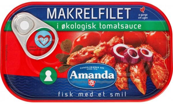 Amanda Makrelfilet in Tomatensauce