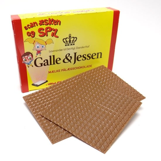 Galle & Jessen Mælke Pålægschokolade