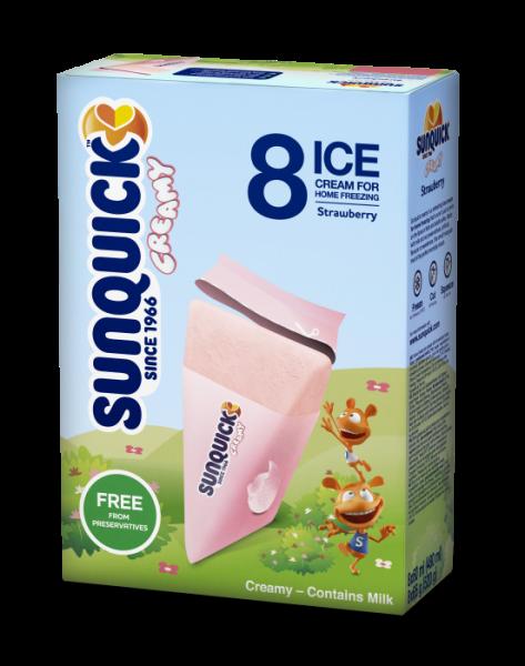 Sun Lolly - Sunquick Creamy Erdbeere