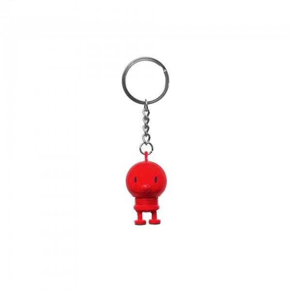 Hoptimist Schlüsselanhänger rot