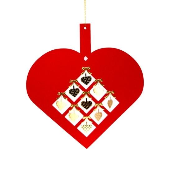 Großes Herz mit kleinen Herzen