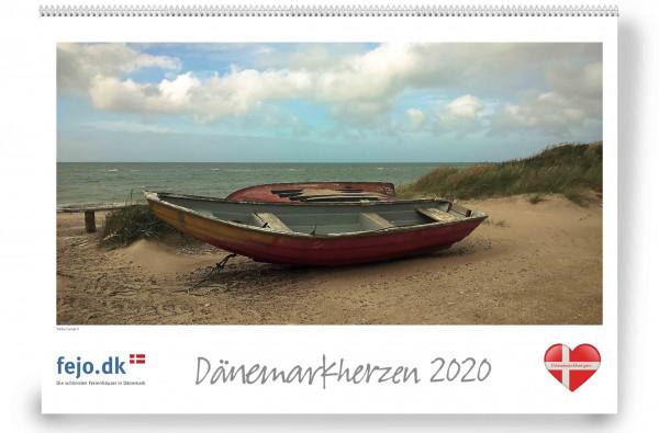 Wandkalender Dänemarkherzen 2020