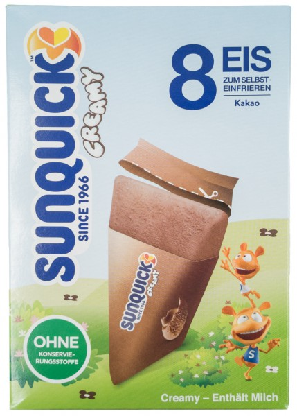 Sun Lolly - Sunquick Creamy Eis Kakao
