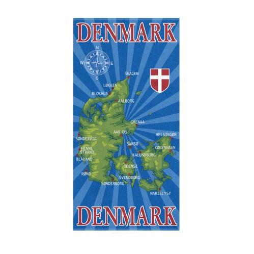 Badehandtuch Dänemark