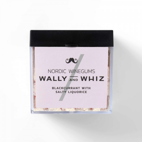 Wally and Whiz Blackcurrant with Salty Liquorice