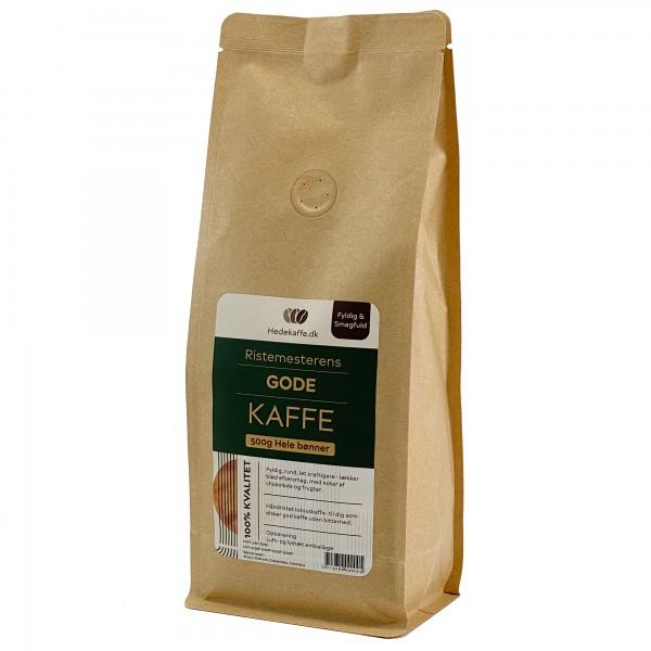 Hedekaffe Ristemesterens Gode Kaffe Bohnen