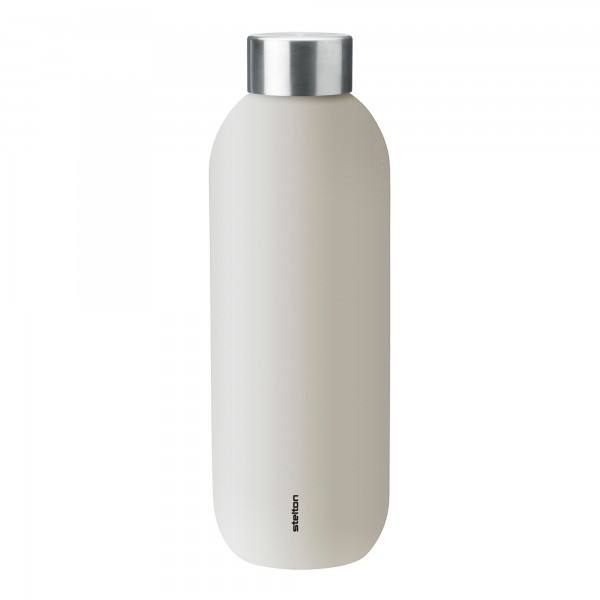 Stelton Keep Cool Thermoflasche sand