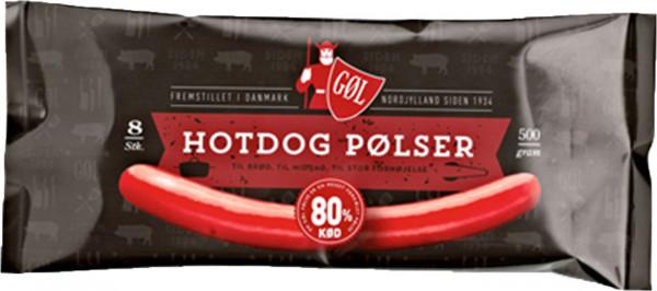 Gøl Rote Hotdog Pølser