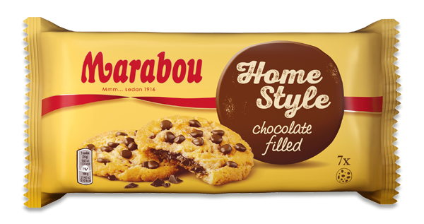 Marabou Home Style Cookies Chocolate Filled