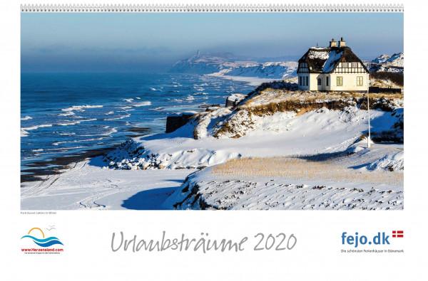 Wandkalender Urlaubsträume 2020