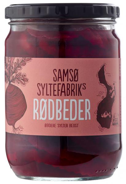 Samsø Syltefabrik Rødbeder - Rote Bete