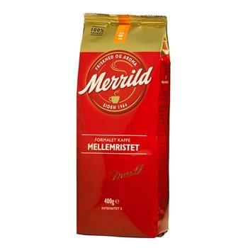 Merrild Mellemristet 103 Kaffee