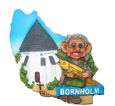 Magnet Ostseeinsel Bornholm
