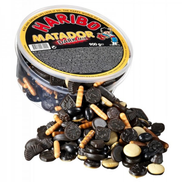 Haribo Matador Dark Mix 900g